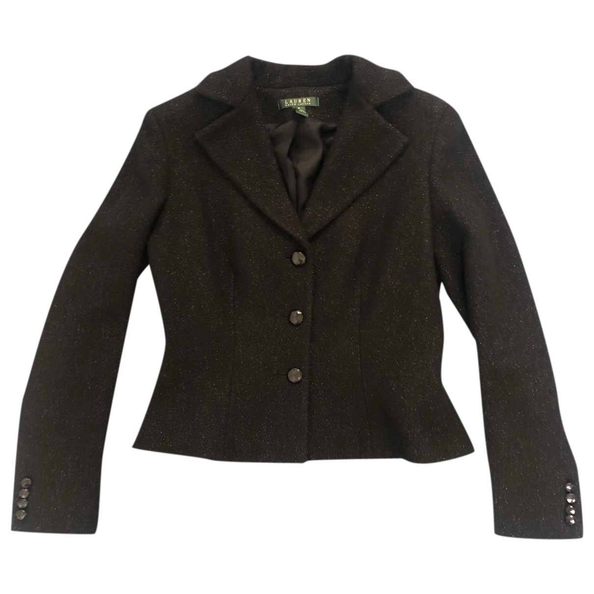 Lauren Ralph Lauren \N Black Wool jacket for Women 6 UK