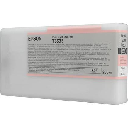 Epson T653600 cartouche d'encre originale magenta clair vivace