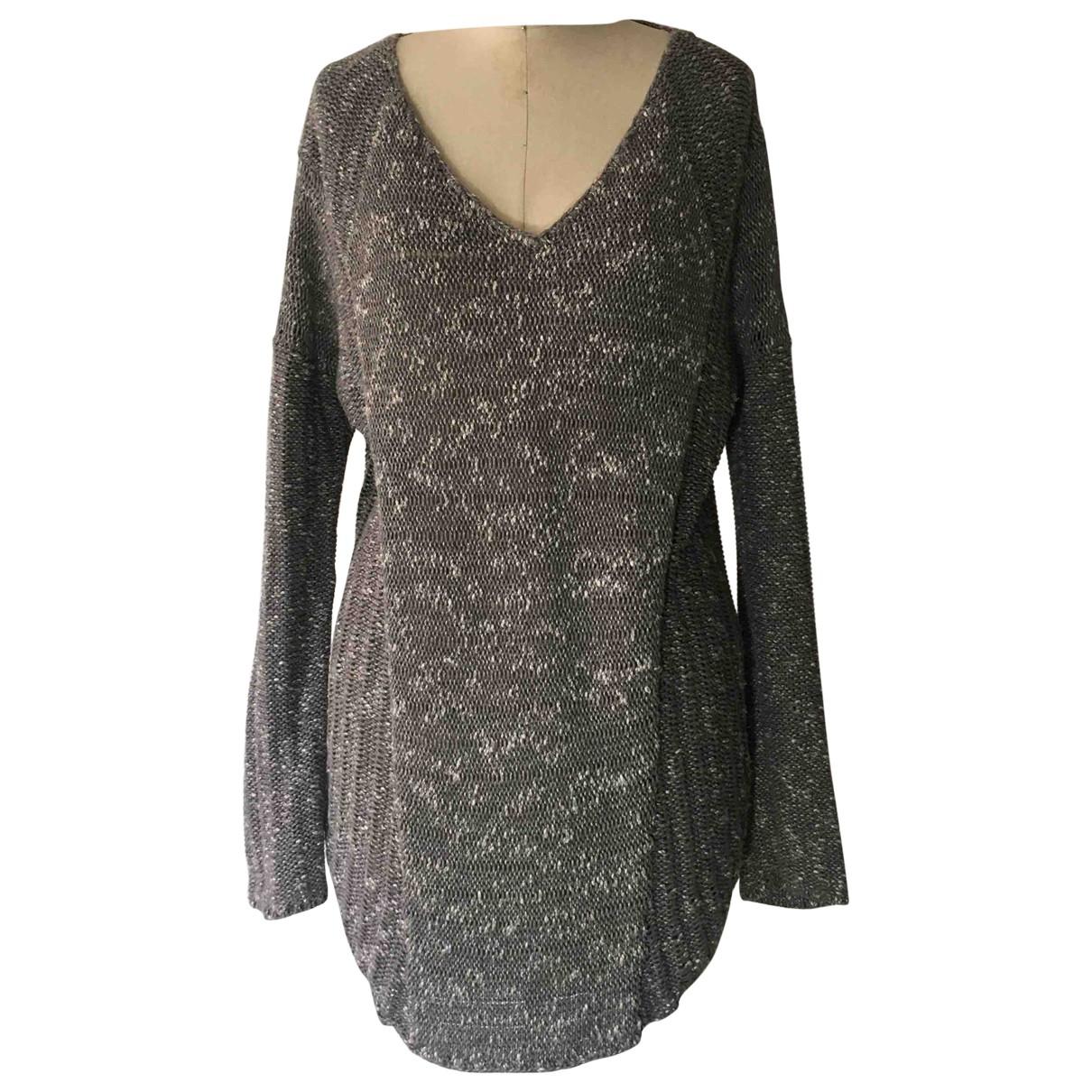 Helmut Lang \N Grey Cotton Knitwear for Women M International