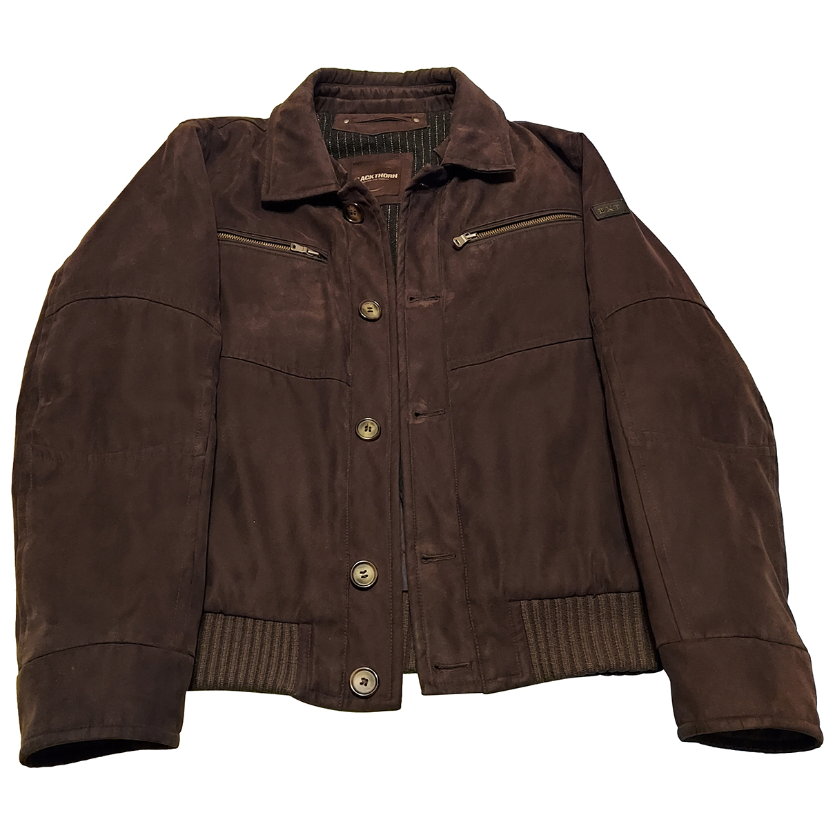 Non Signé / Unsigned N Brown jacket  for Men 50 IT