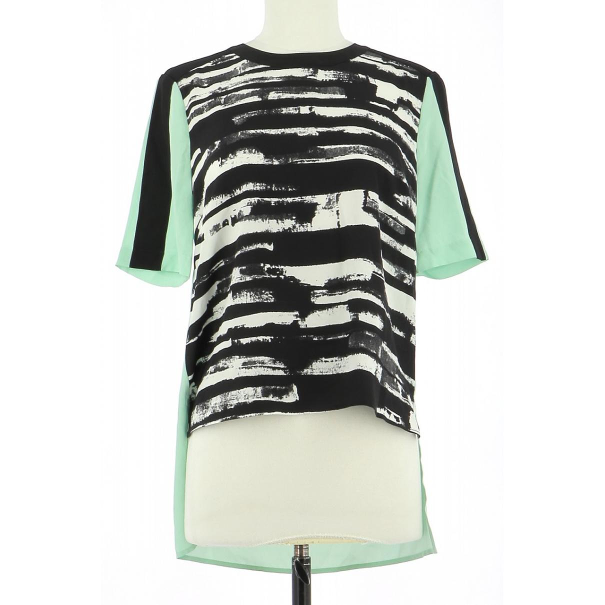 Bcbg Max Azria \N Green Silk  top for Women 34 FR