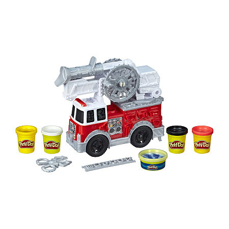 Play-Doh Wheels Firetruck 5pk, One Size , No Color Family