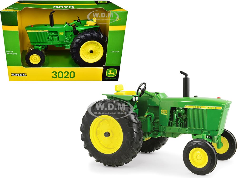 John Deere 3020 Diesel Tractor Green 1/16 Diecast Model by ERTL TOMY