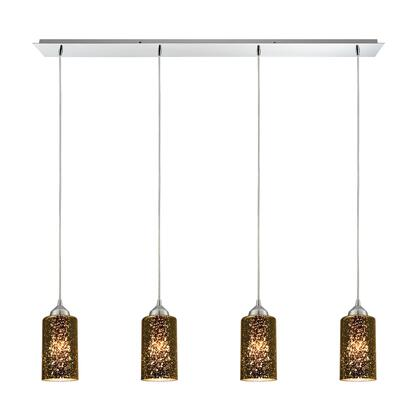 10505/4LP Illusions 4 Light Pendant in Polished