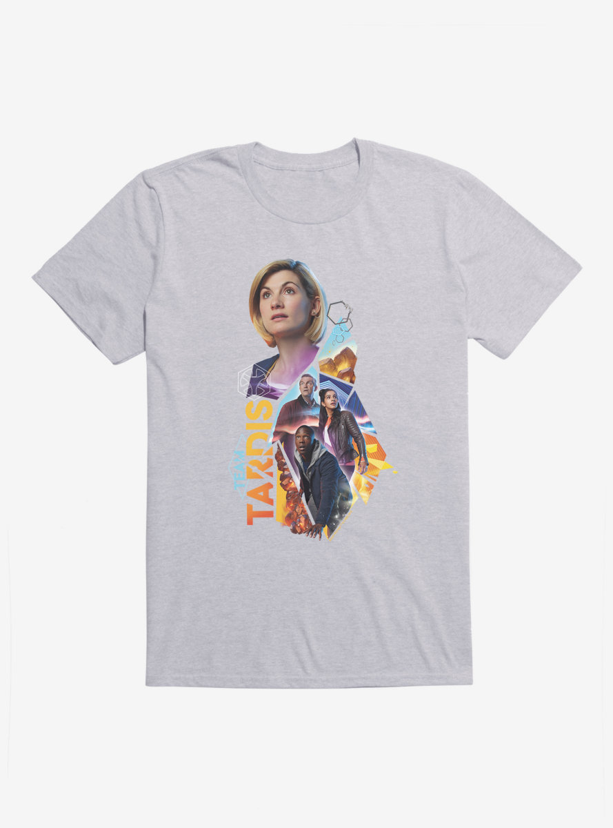 Doctor Who Thirteenth Doctor Team TARDIS T-Shirt