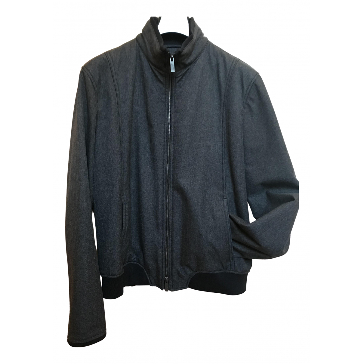 Armani Collezioni \N Grey jacket  for Men 50 IT