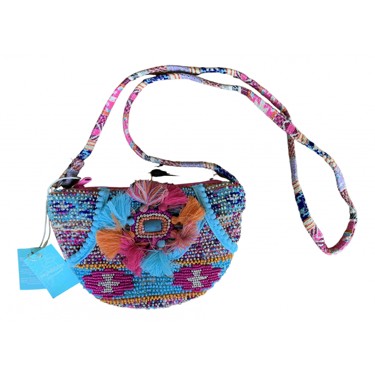 Non Signé / Unsigned N Multicolour handbag for Women N