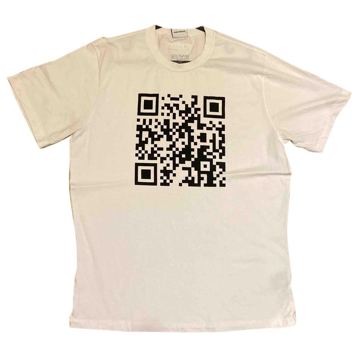 Vetements - Tee shirts   pour homme en coton - blanc