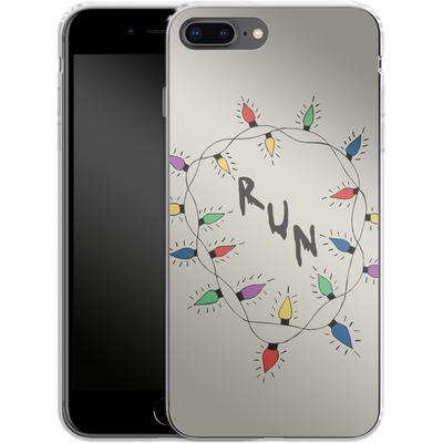 Apple iPhone 7 Plus Silikon Handyhuelle - RUN von caseable Designs
