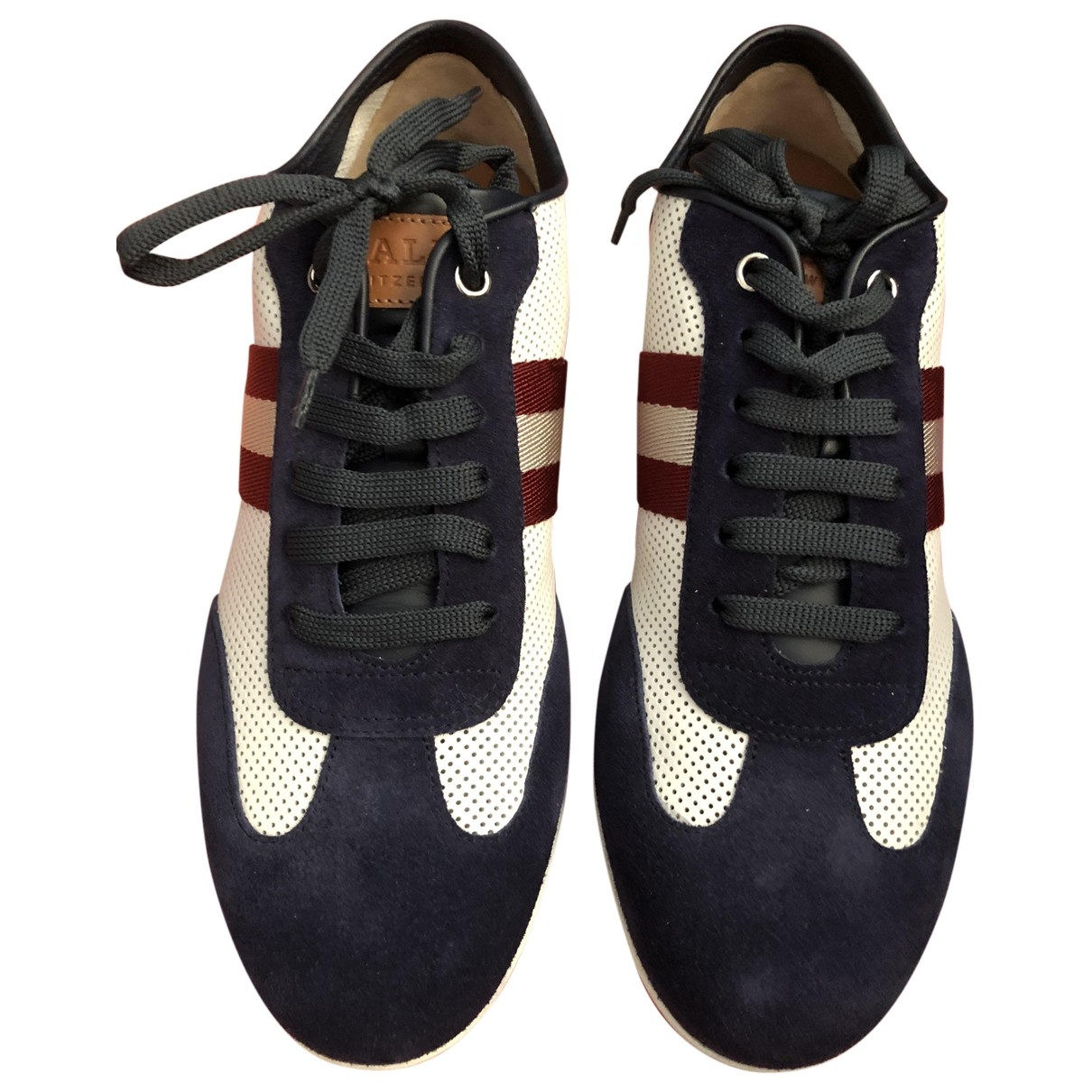 Bally \N Multicolour Leather Trainers for Men 7 US