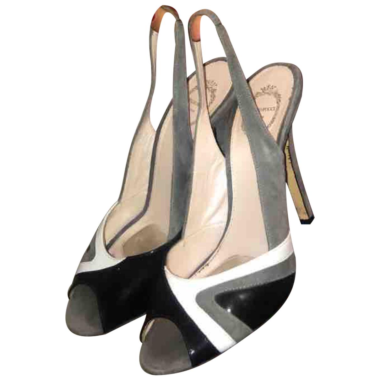 Emilio Pucci N Multicolour Leather Heels for Women 36.5 EU