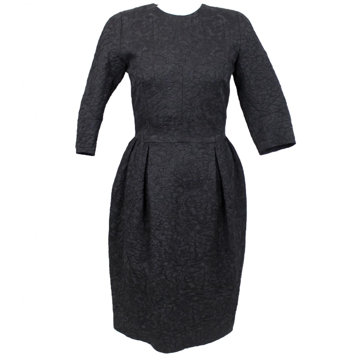 Dries Van Noten - Robe   pour femme en laine - noir