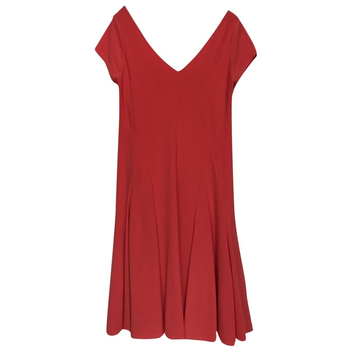 Lauren Ralph Lauren \N Kleid in  Rot Polyester