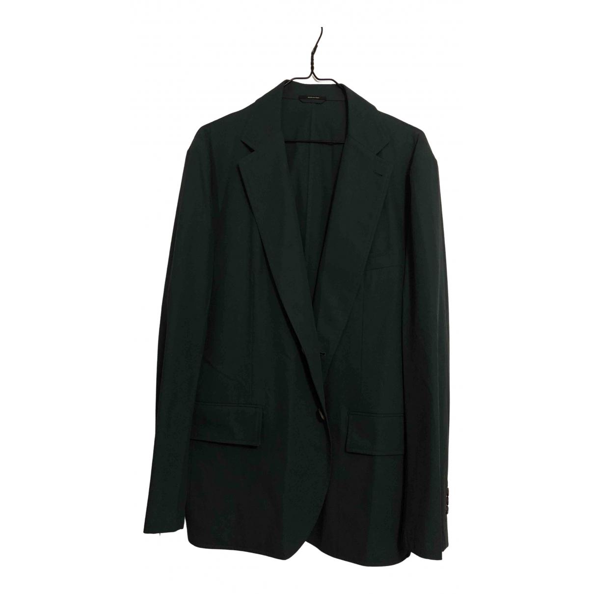 Hermès \N Turquoise Cotton jacket  for Men 54 FR