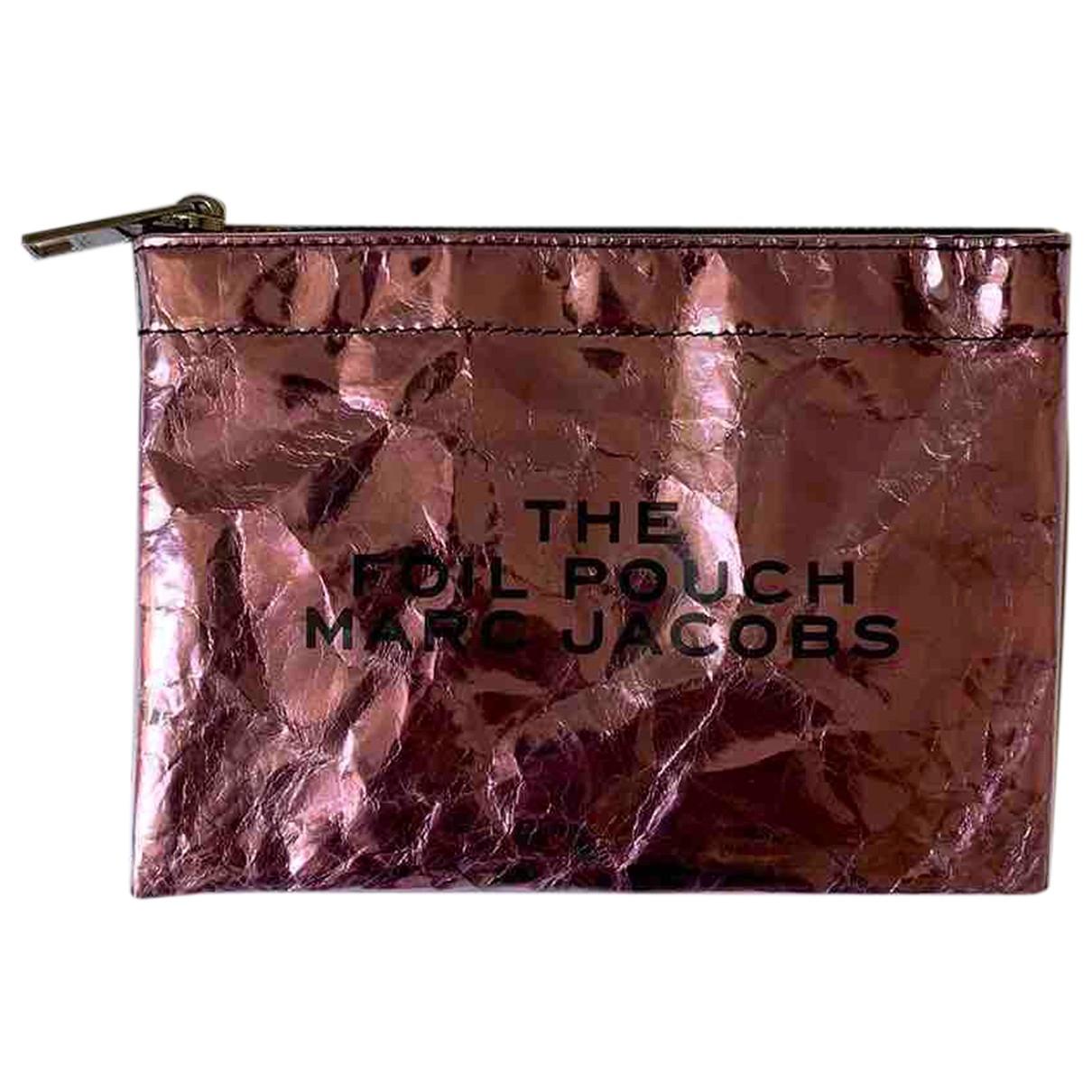 Marc Jacobs - Pochette   pour femme en cuir - rose