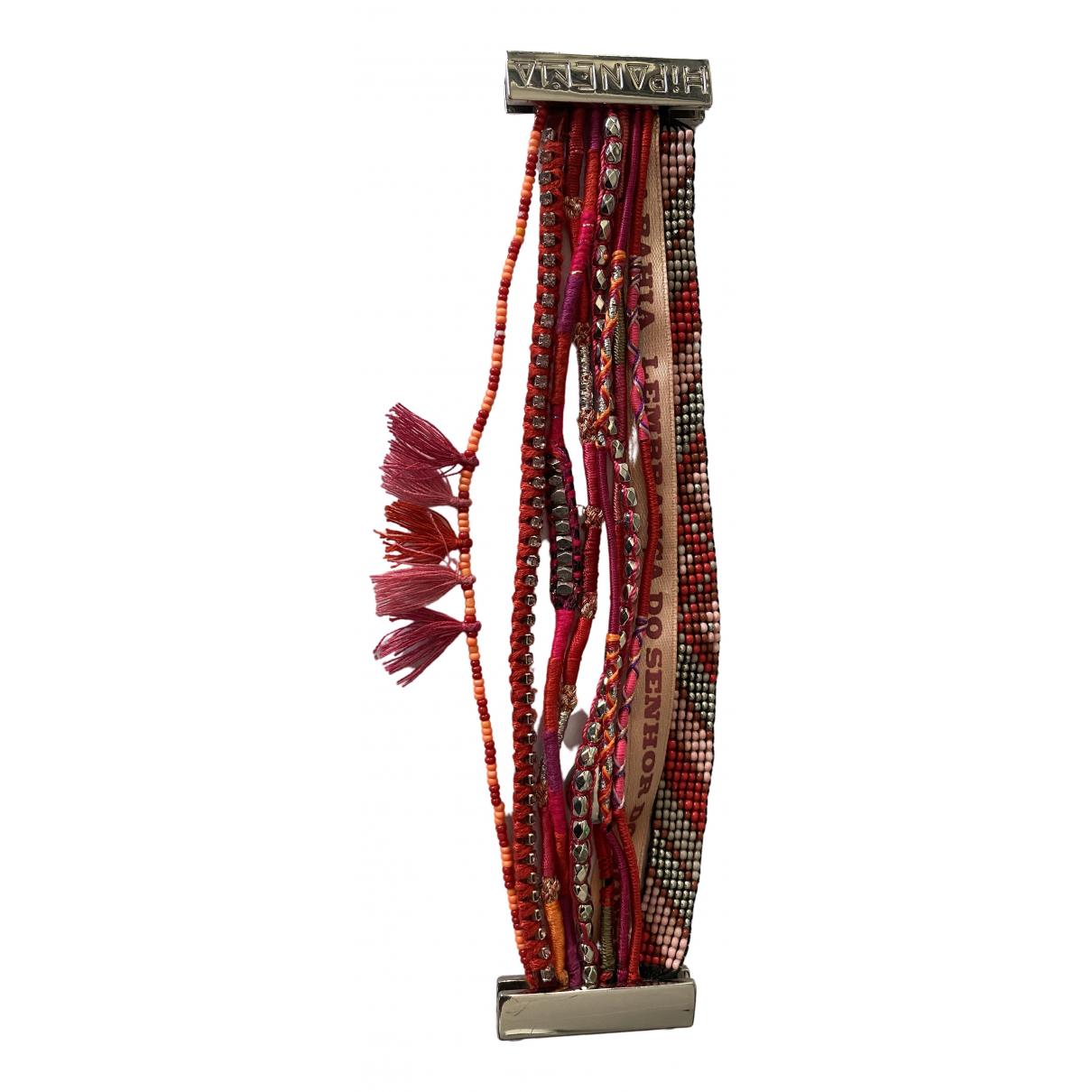 Hipanema \N Red Metal bracelet for Women \N