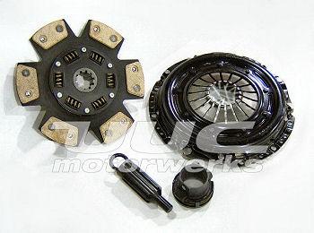 UUC Motorwerks UUC-E90335-OEMP Multi-Puck Ceramic Clutch Kit w/ Non-SAC Pressure Plate BMW E82/E87/E88 135i   E90/E92 335i 07-14