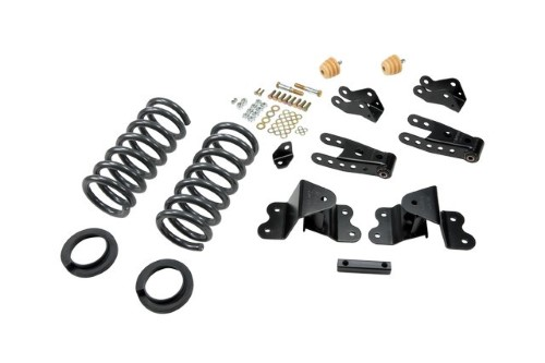 Belltech 698 2-3inch Front 4inch Rear Lowering Kit w/o Shocks Chevrolet Silverado | GMC Sierra C1500/C2500 1988-1998