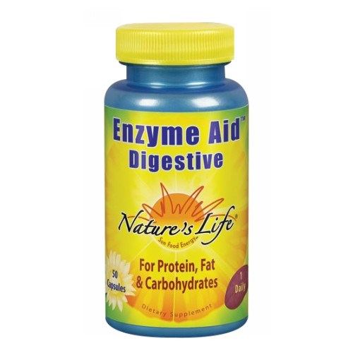 Enzyme Aid Digestive 50 caps by Nature's Life