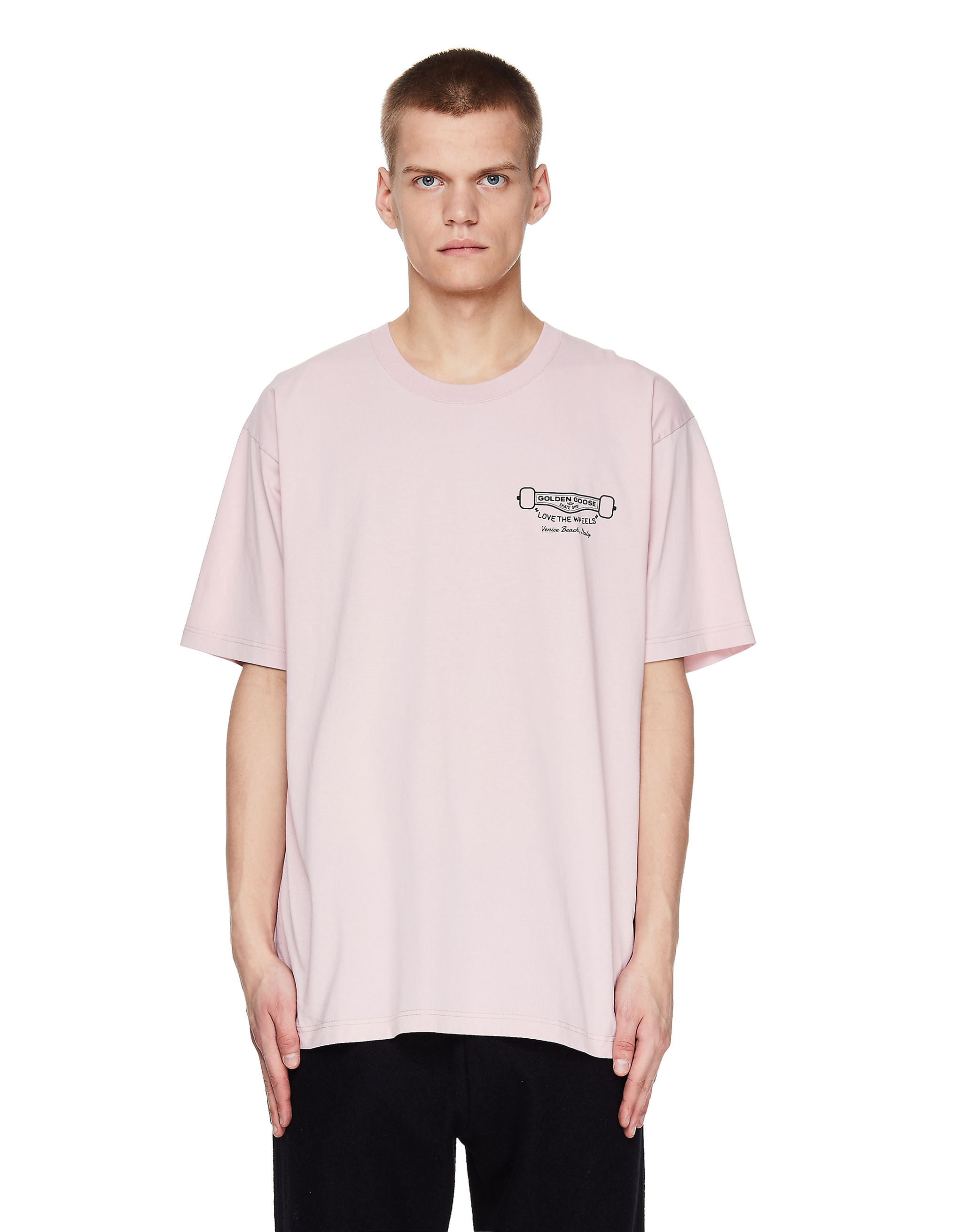 Golden Goose Love The Wheels Printed T-Shirt