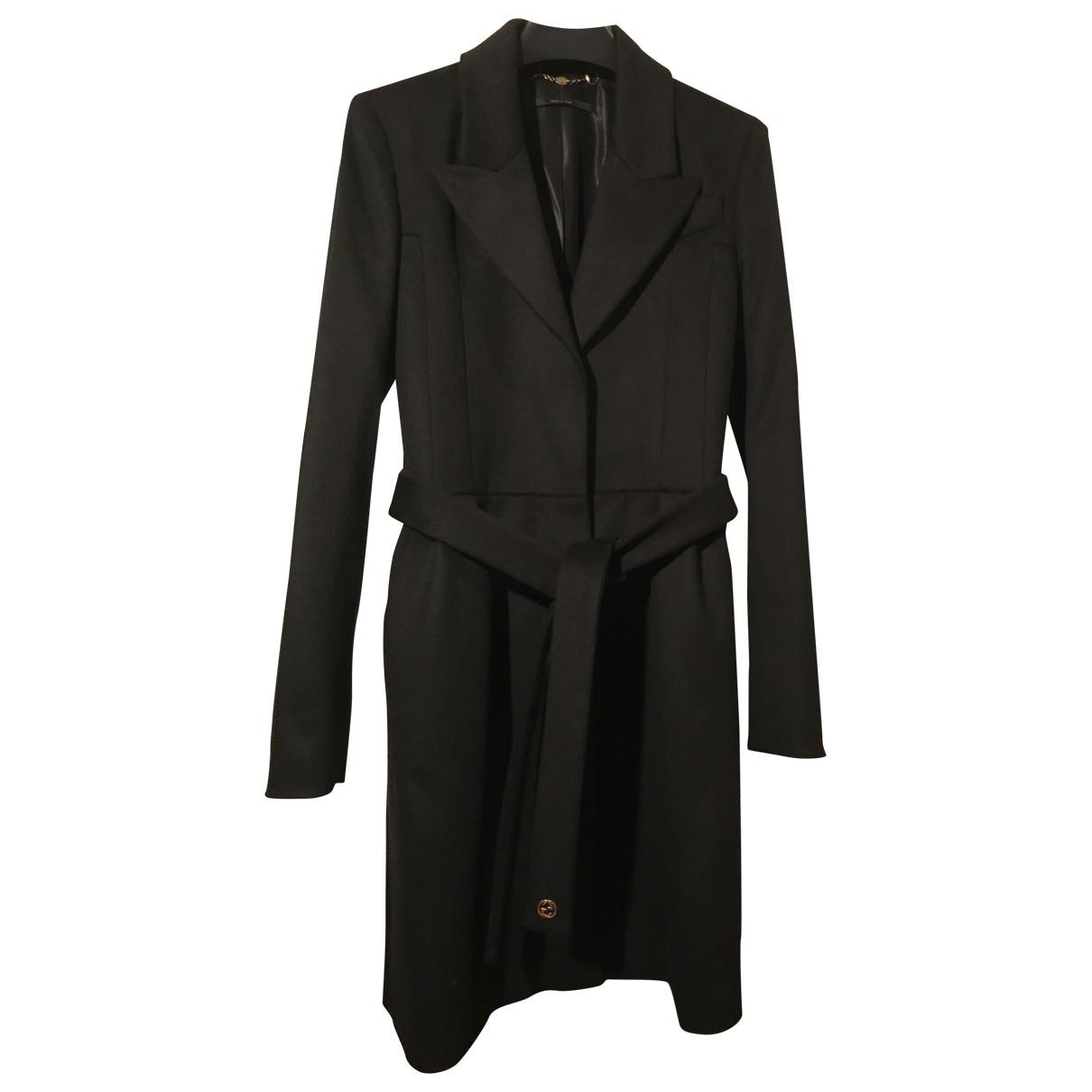 Gucci \N Black Wool coat for Women 36 IT