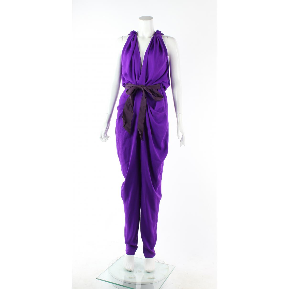Lanvin - Combinaison   pour femme - violet
