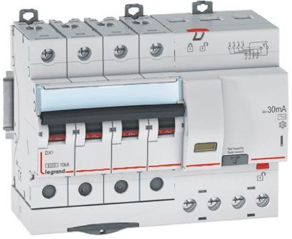 Legrand 3 + N 32 A RCD Switch, Trip Sensitivity 30mA