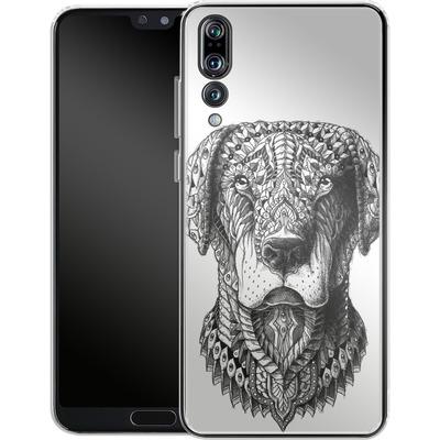 Huawei P20 Pro Silikon Handyhuelle - Labrador von BIOWORKZ