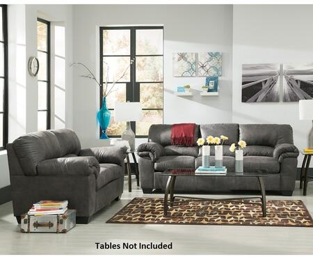 Signature Design by Ashley Bladen FSD-1209SET-SLA-GG 2 PC Living Room Set with Sofa + Loveseat in Slate