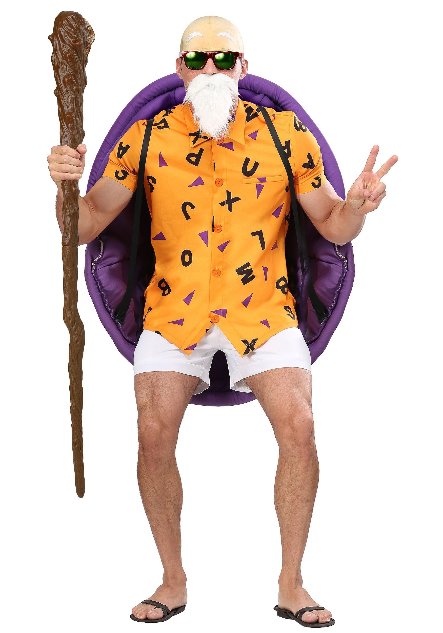Dragon Ball Z Master Roshi Costume for Plus Size Men