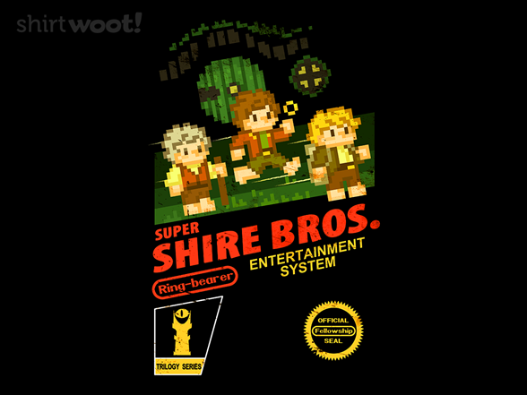 Super Shire Bros. T Shirt