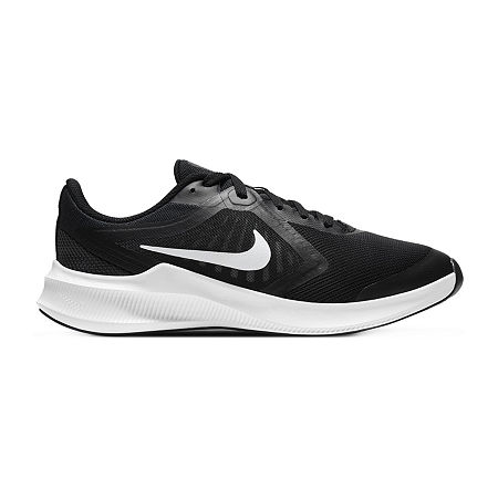 Nike Downshifter 10 Little Kid/Big Kid Boys Running Shoes Wide Width, 6 Wide, Black