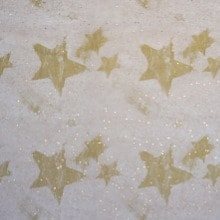 Gold Shooting Star Tissue Paper - 20 X 30 - Quantity: 200 by Paper Mart