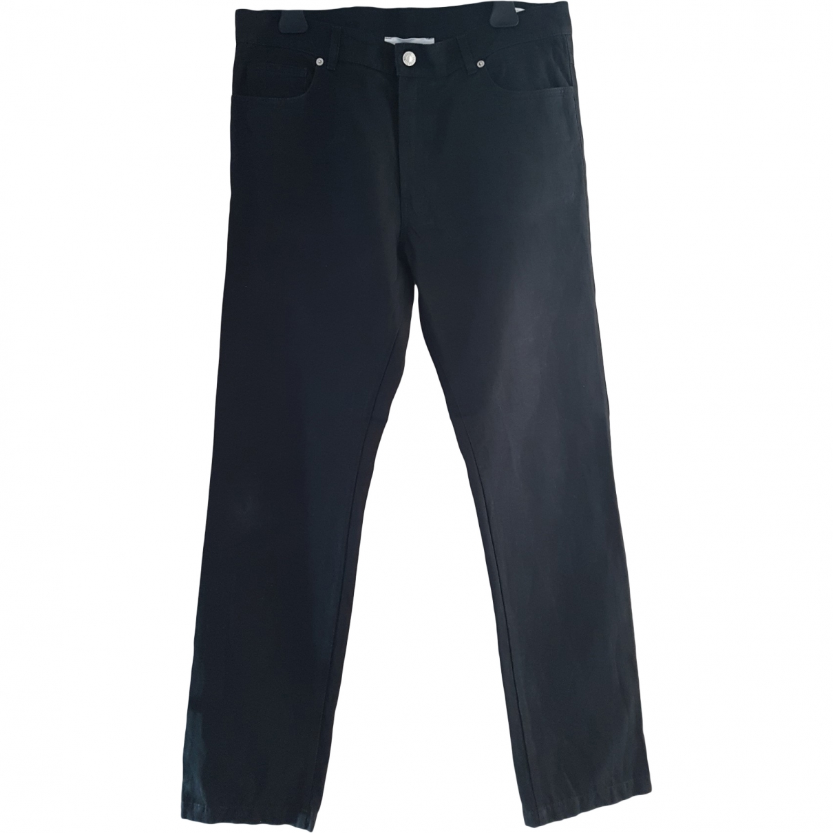 Moschino \N Black Cotton Trousers for Men 50 IT