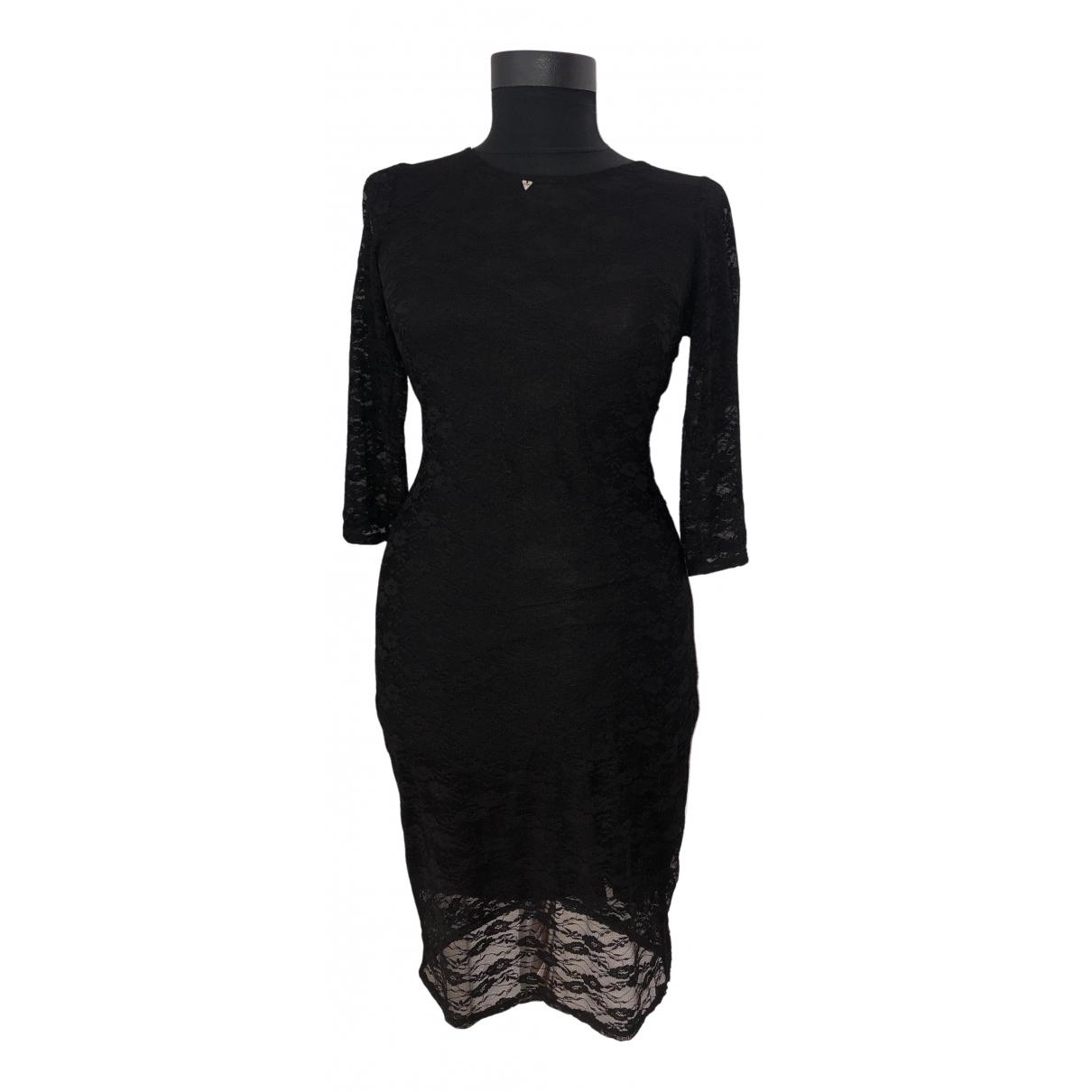 Guess \N Kleid in  Schwarz Baumwolle - Elasthan