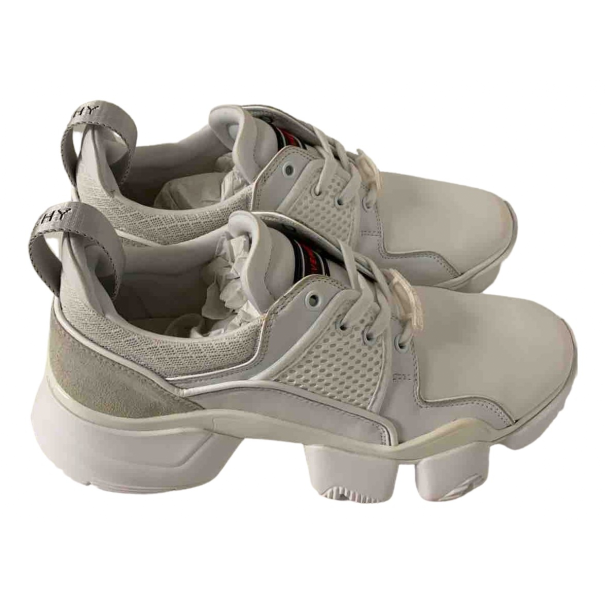 Givenchy Jaw White Leather Trainers for Women 41 EU
