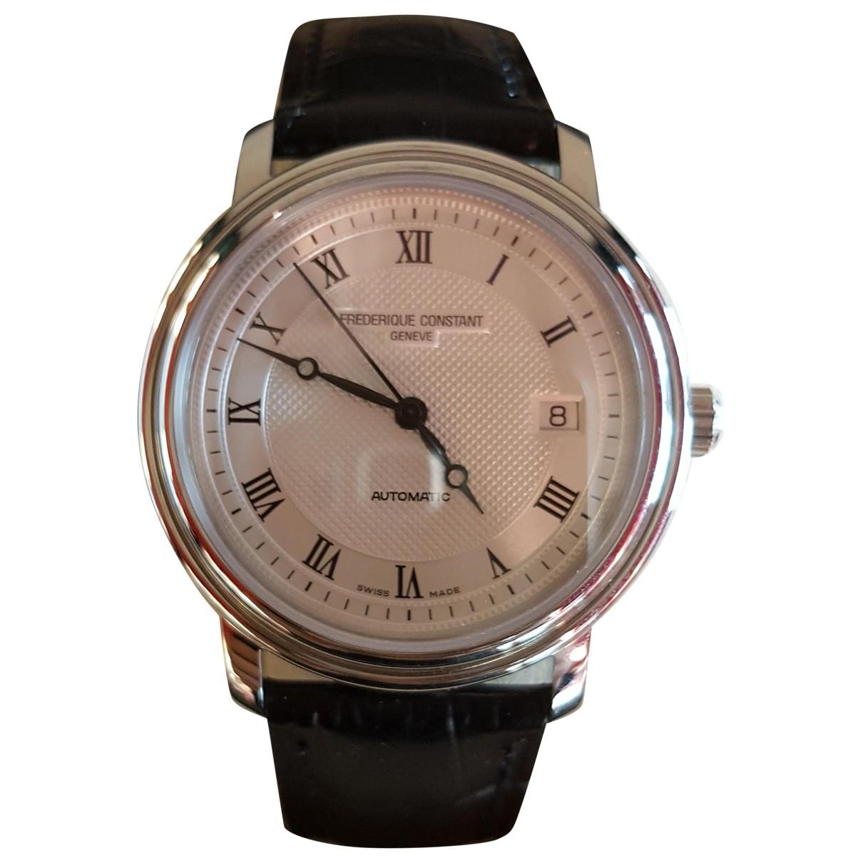 Frederique Constant Classic Automatique Uhr in  Silber Stahl