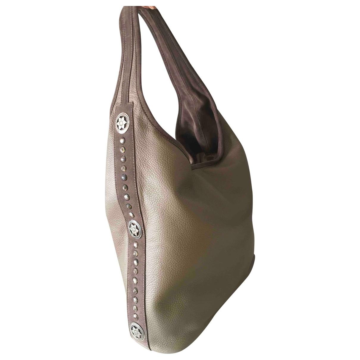 Non Signe / Unsigned \N Handtasche in Leder