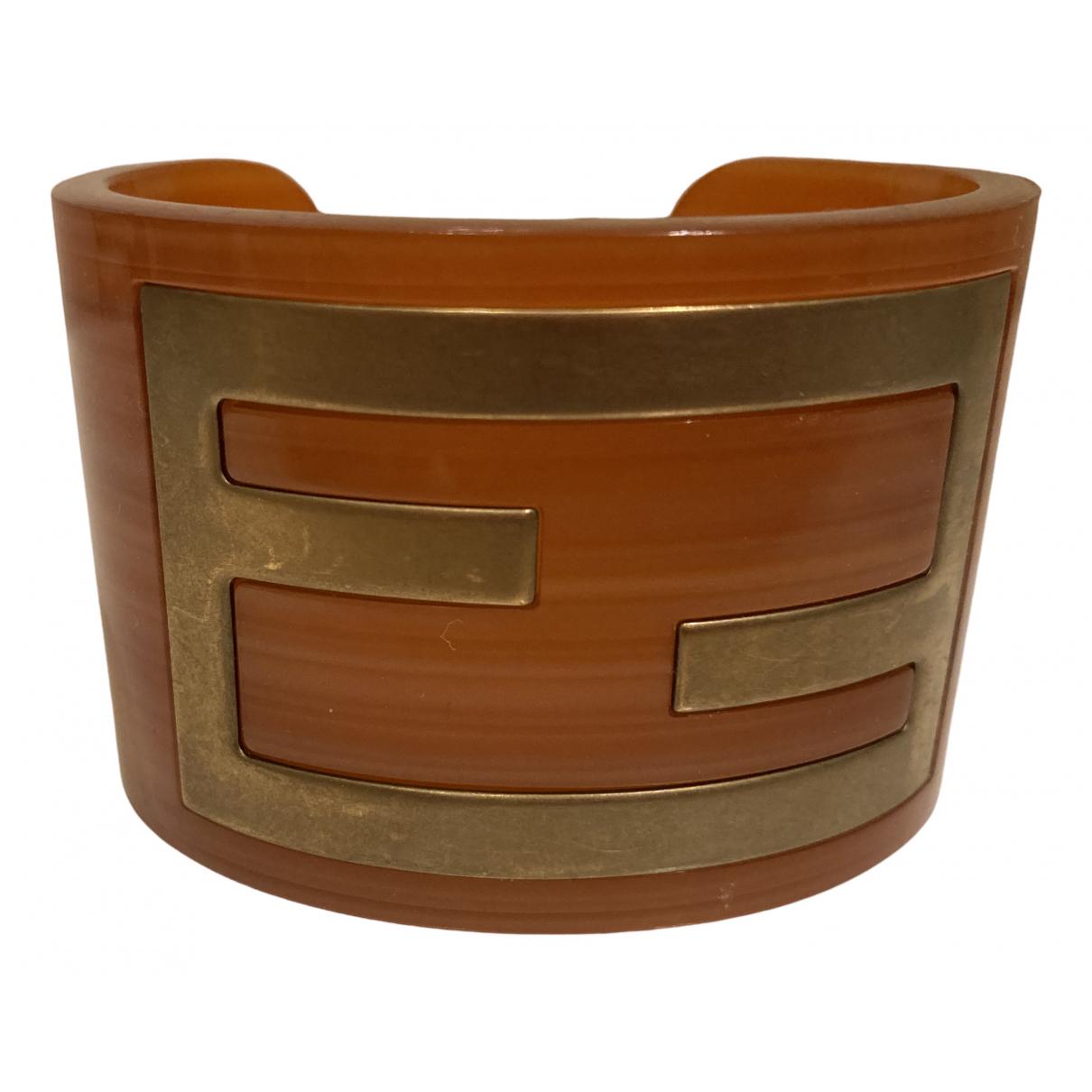 Fendi \N Armband in  Orange Kunststoff