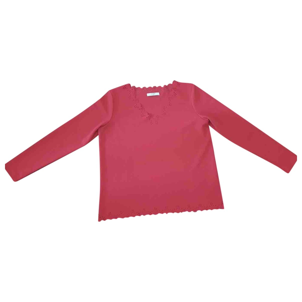 Zapa \N Top in  Rot Polyester