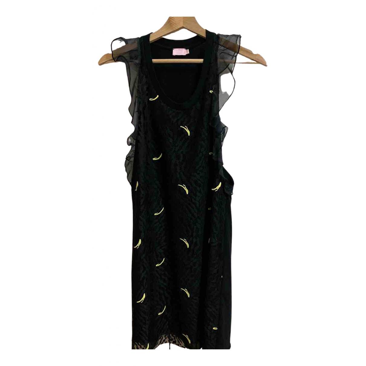 Mini vestido de Encaje Giamba