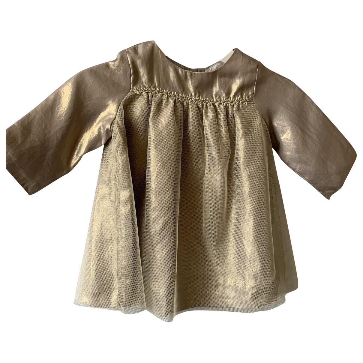 Bonpoint - Robe    pour enfant - metallise