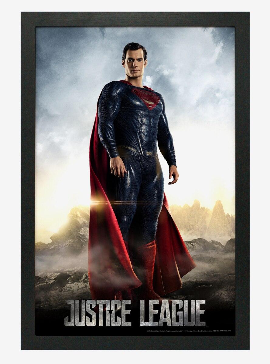 DC Comics Justice League Superman Poster