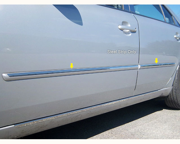 Quality Automotive Accessories 4-Piece 1.5-Inch Width Molding Insert Trim Accent Hyundai Sonata 2009