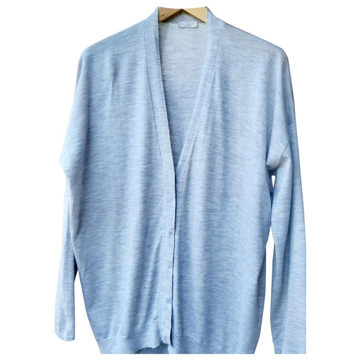 Brunello Cucinelli \N Grey Cashmere Knitwear for Women XXXL International