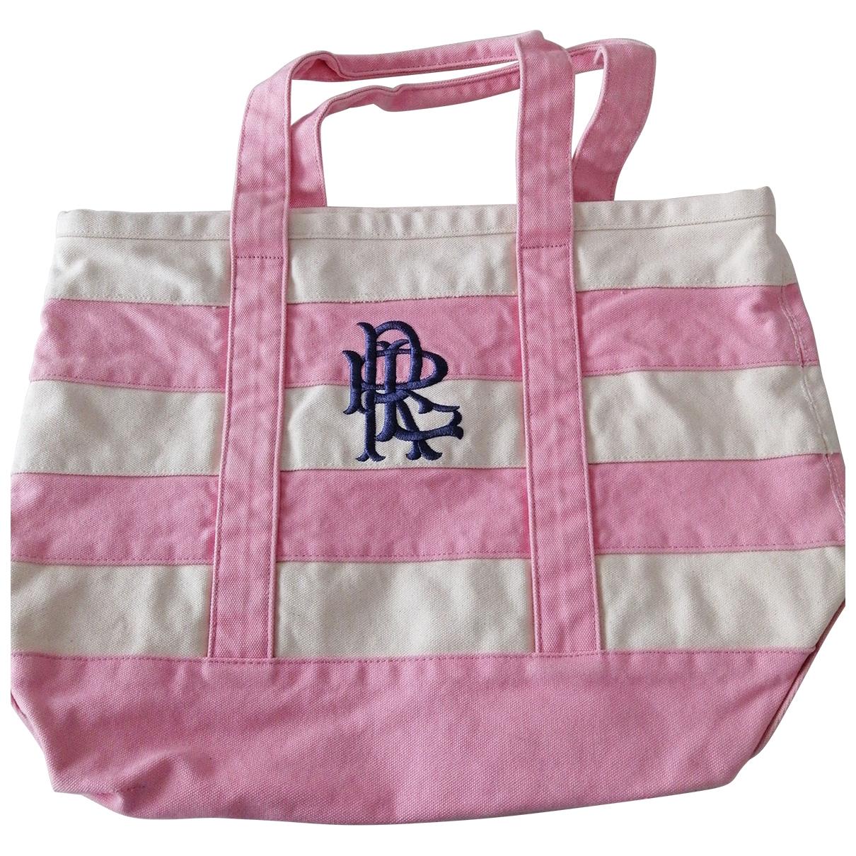 Rugby Ralph Lauren - Sac a main   pour femme en coton - rose