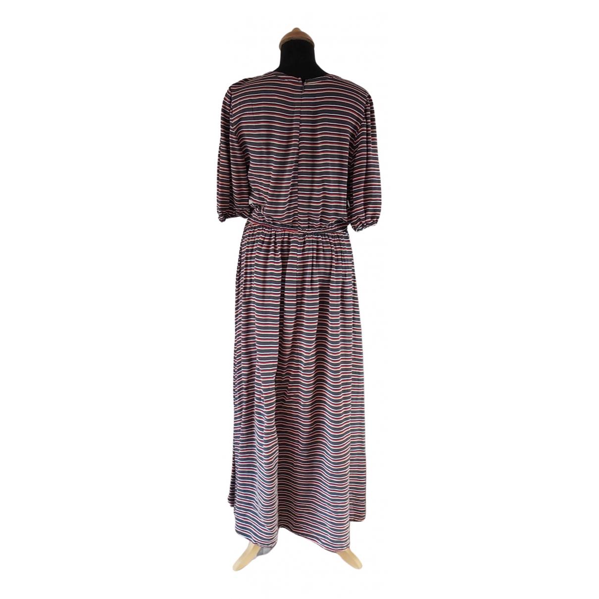 American Vintage \N Kleid in  Anthrazit Baumwolle