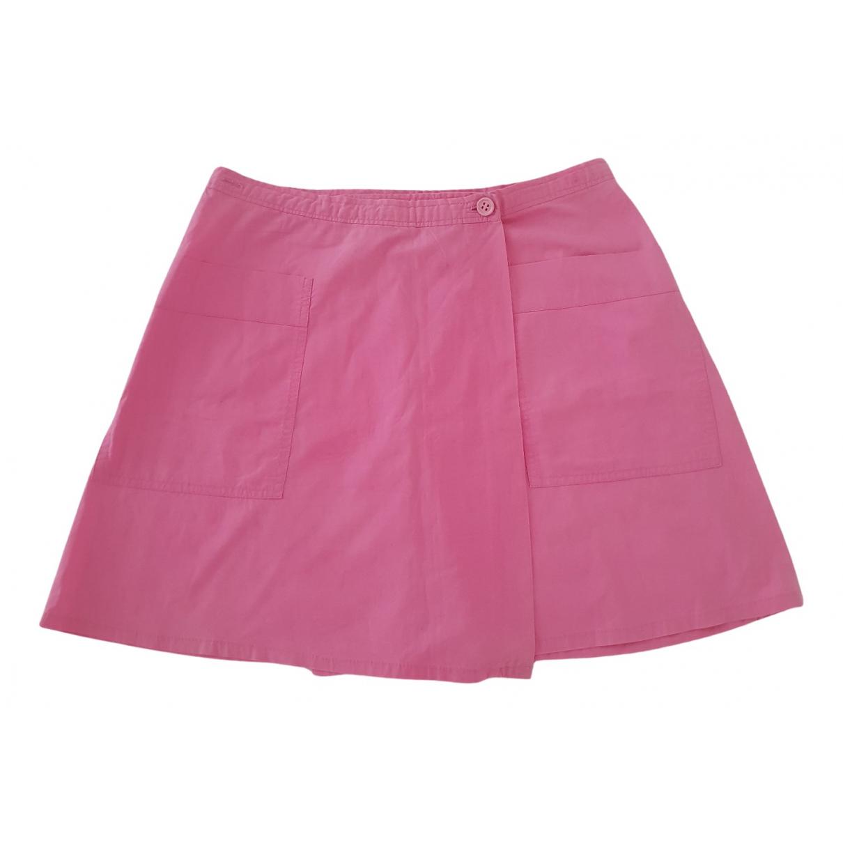 Claudie Pierlot - Jupe   pour femme en coton - rose