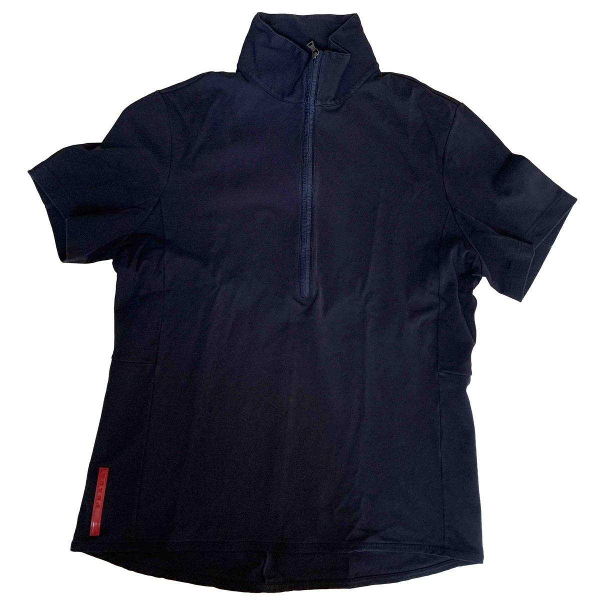 Prada \N Poloshirts in  Marine Baumwolle