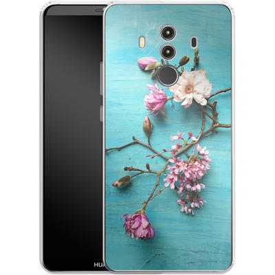 Huawei Mate 10 Pro Silikon Handyhuelle - Flowers of Spring von Joy StClaire